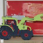 3D-Postkarte Traktor